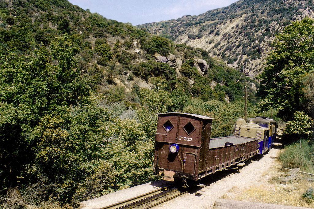 Train à crémaillère Diakofto-Peloponnese