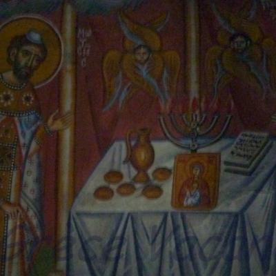 Athenes -St Georges Icone religieuse 01-GV-ip