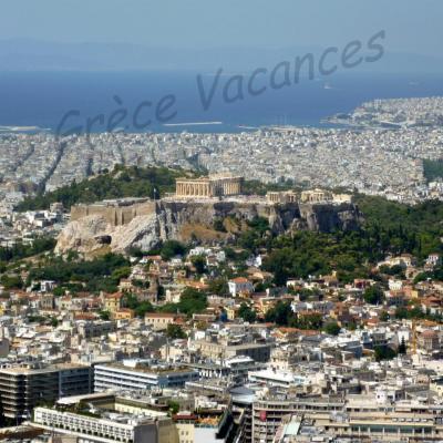 Athenes vue de Lycabette-GV