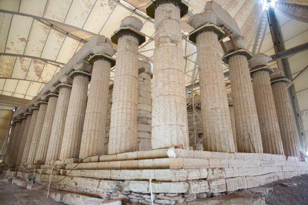 Bassae temple d'Epikourios Apollo - Péloponnèse