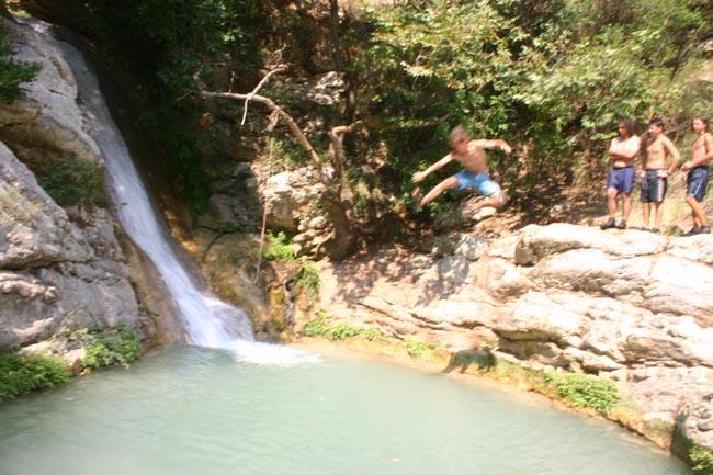 Ilia - Neda cascade