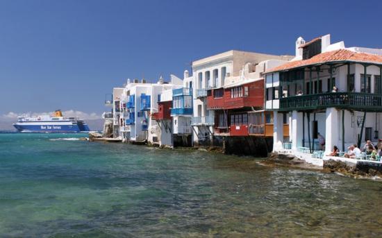 des lieux... des plus incroyables                                      Mykonos