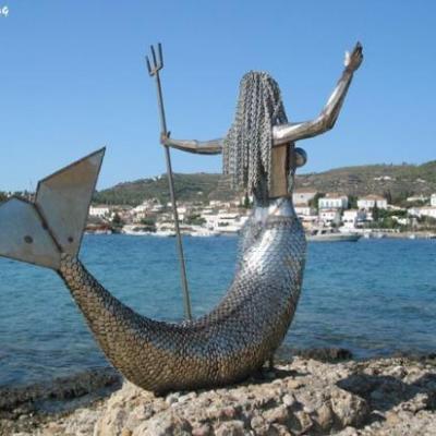 SPETSES02-Des îles qui vous accueillent avec les mythes et légendes...