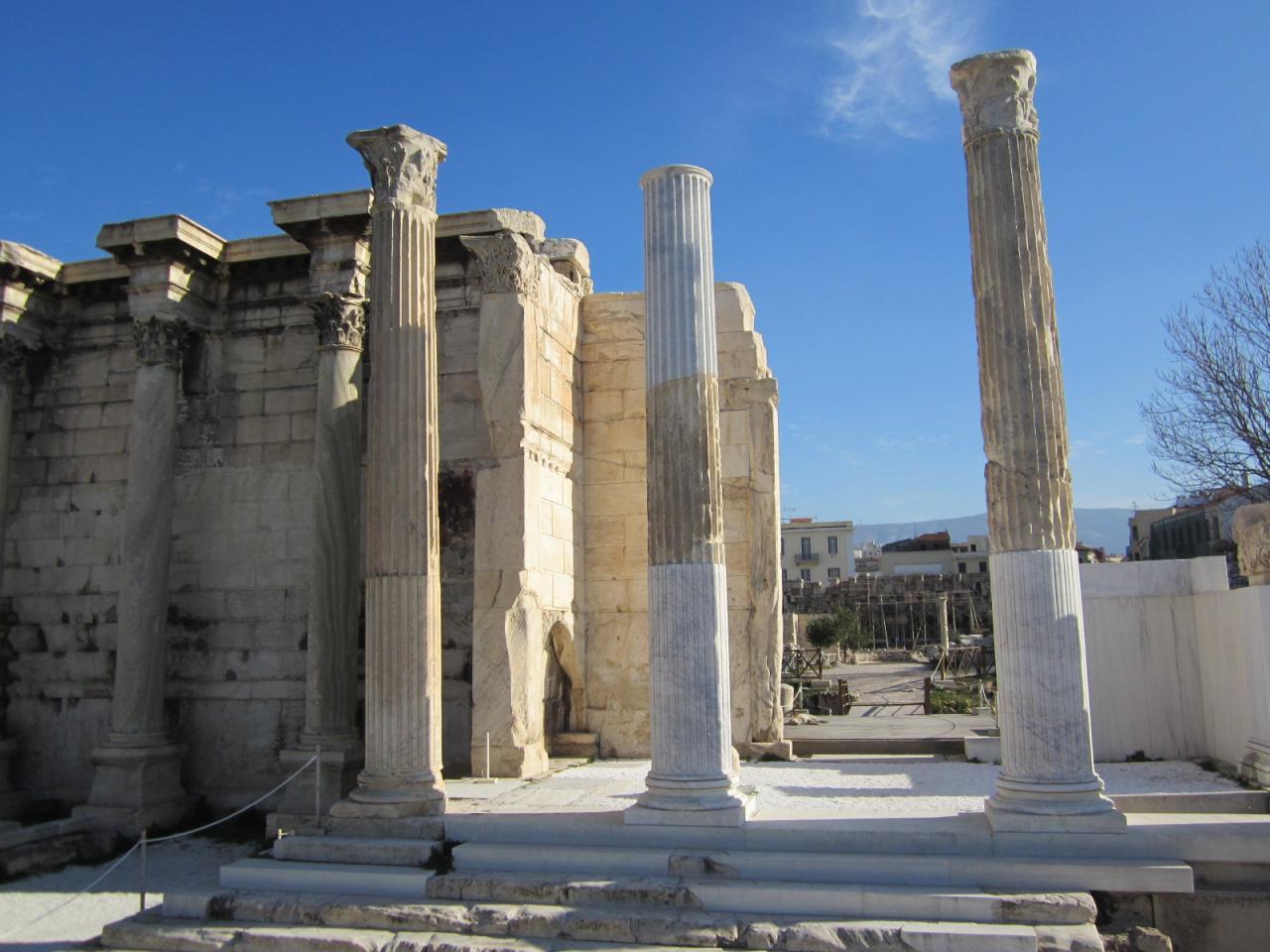 Bibliothèque d'Hadrien-IMG_0881-© copyright Grèce Vacances