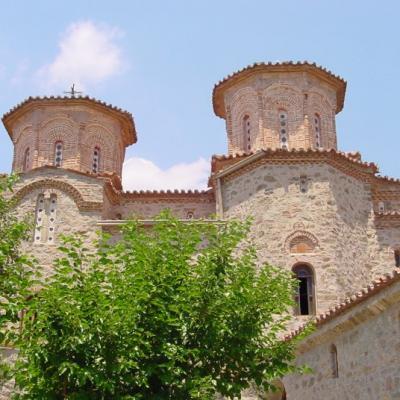 Meteores monastère de Varlam