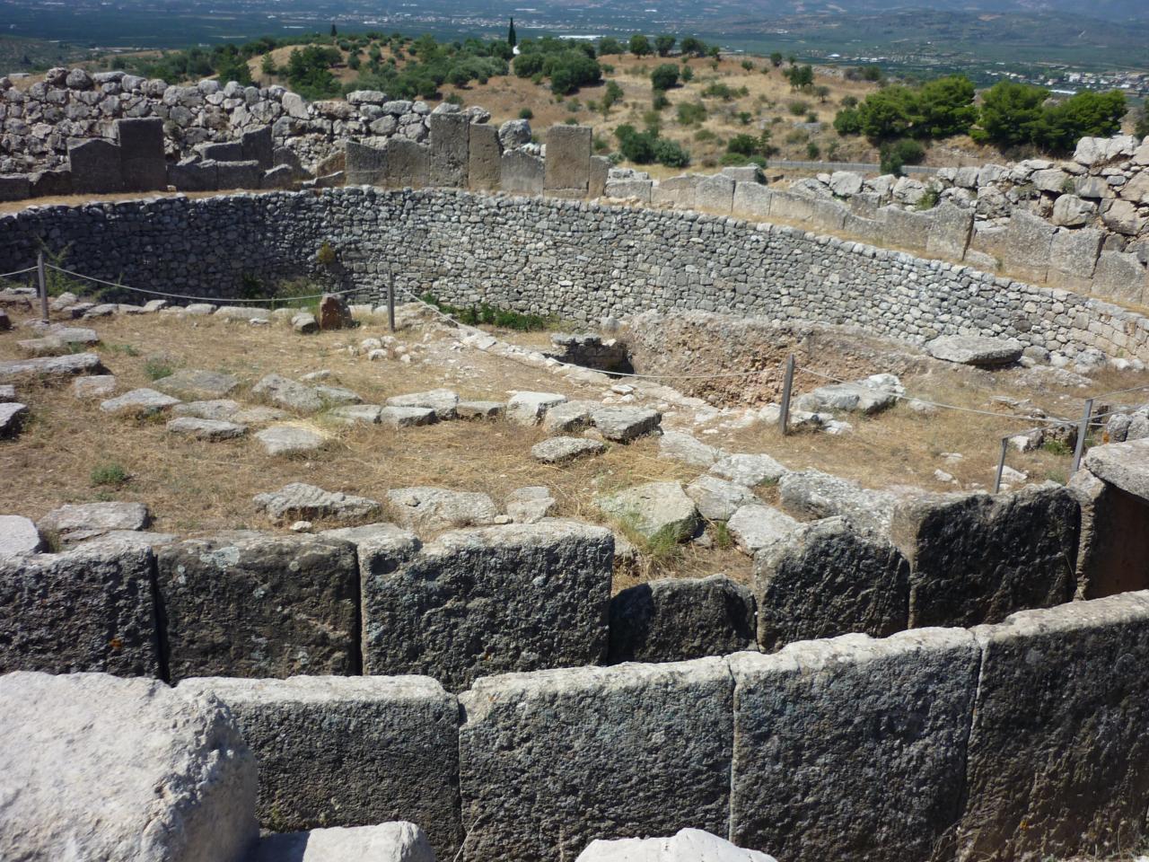 Site de Mycènes - Argolie