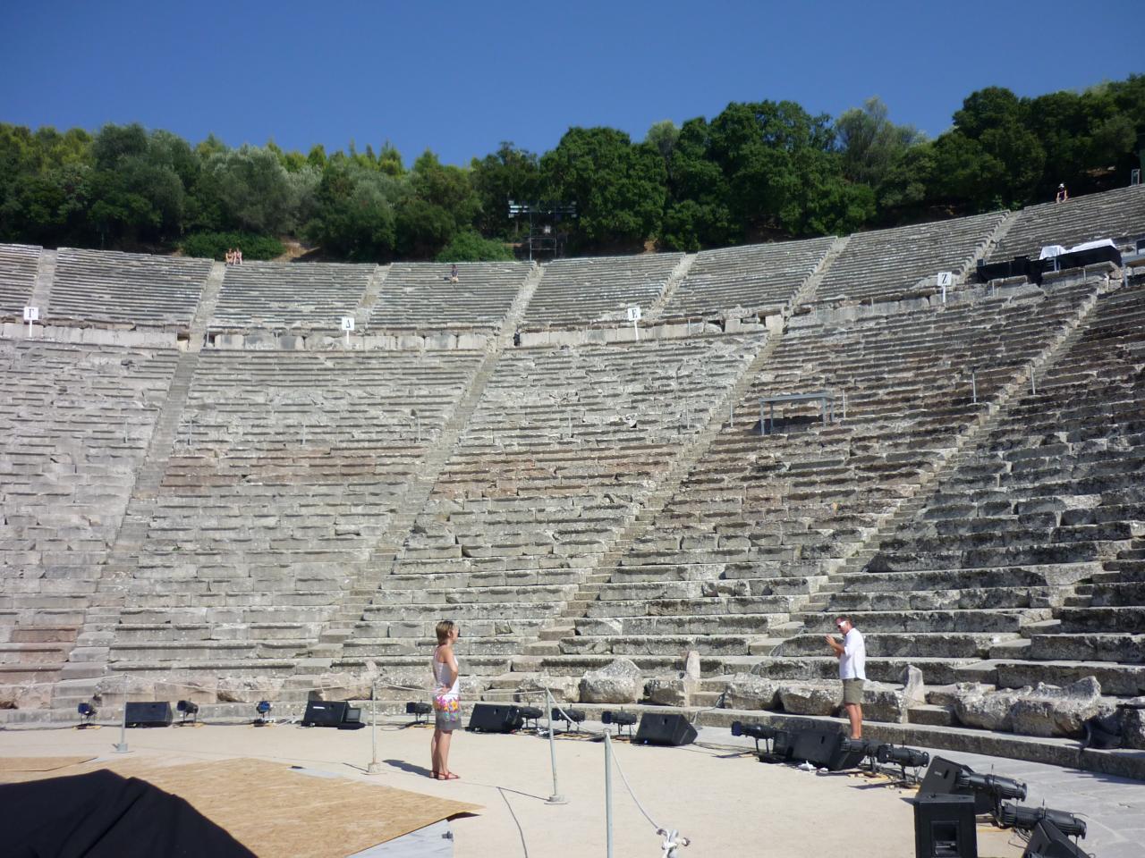 Téâtre Epidaure - Argolie