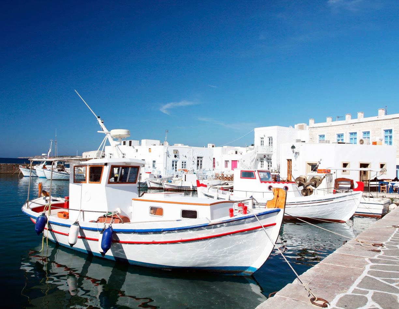 Image de l'île Paros