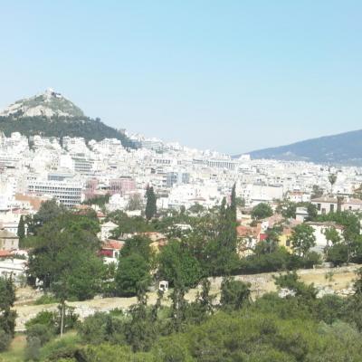 Athènes panoramas