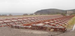 Akrotiri durant les travaux 2010