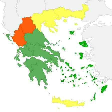 Climat Grèce Octobre