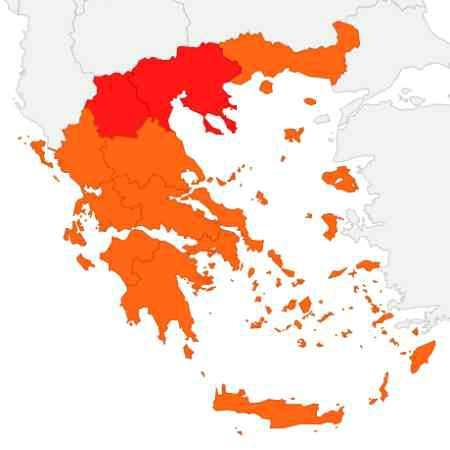 Climat Grèce Janvier