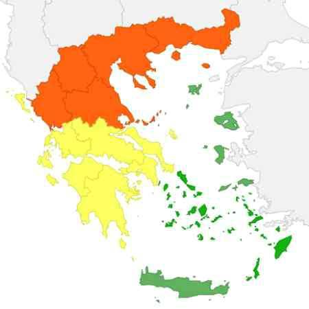 Climat Grèce Avril