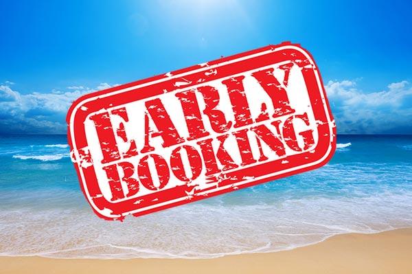 Early booking - Réservation anticipé des offres Grèce Vacances
