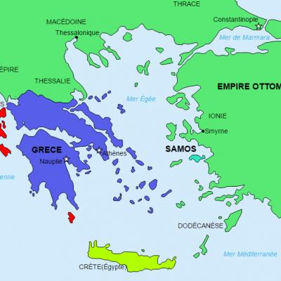Etat grec en 1830