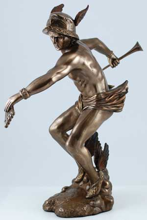 Dieux de l'Olympe  Hermes Statue