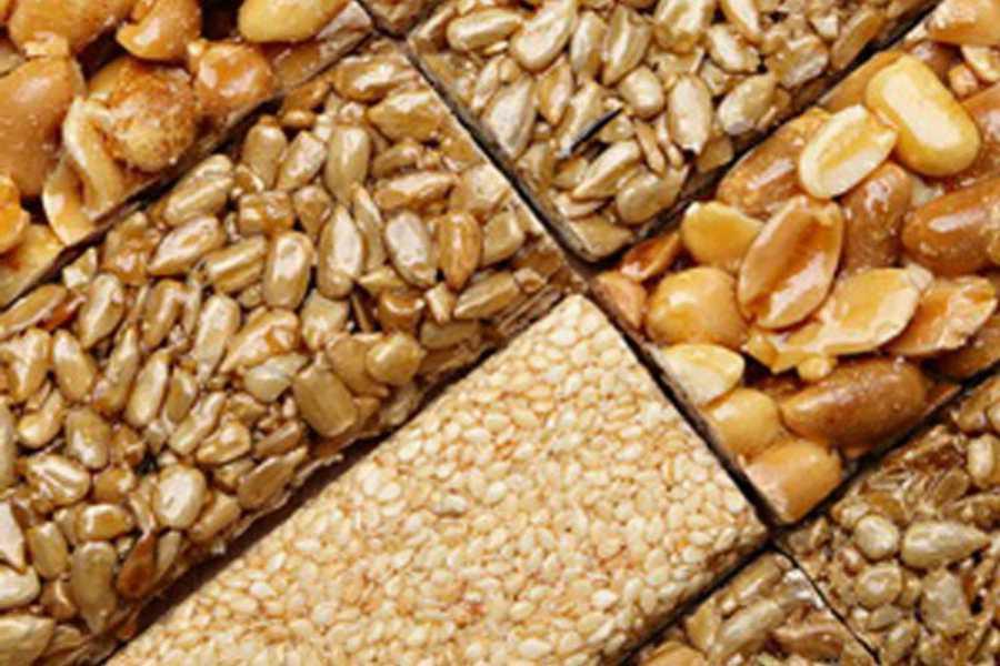 Pasteli variations de graines