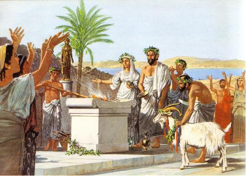 Vie rites anthesteria