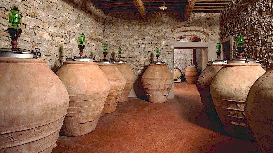 Vin ferentation antique