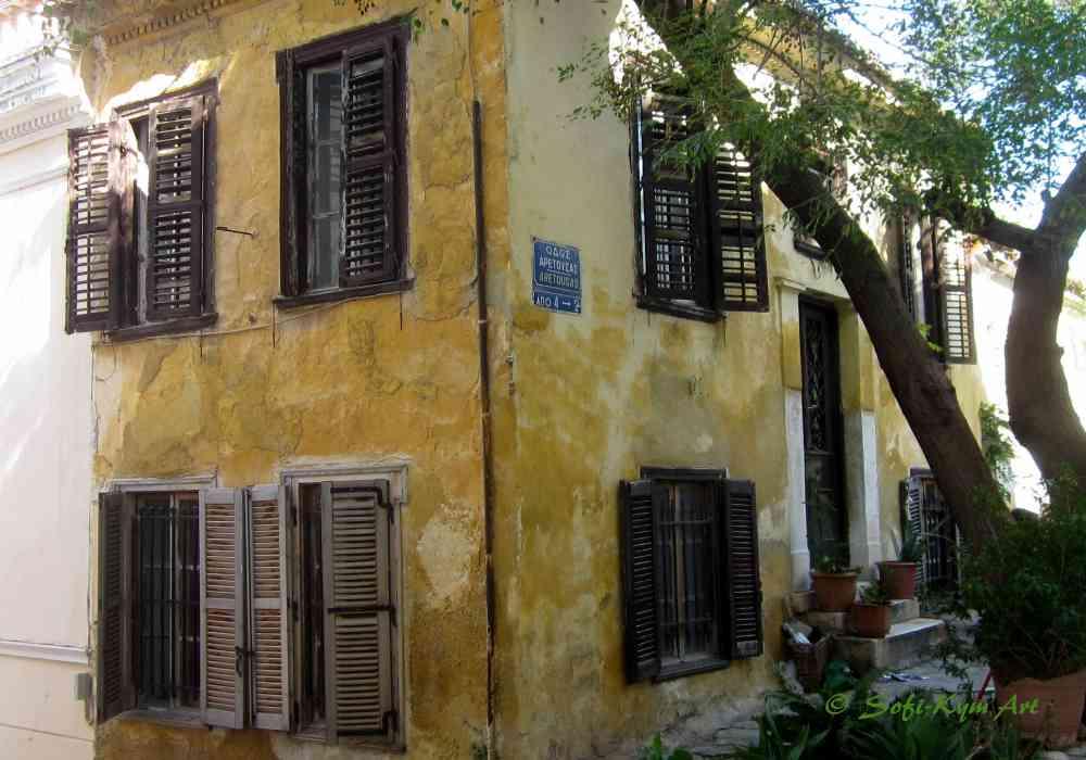 Maison du quartier du Vieux Plaka - IMG_8464