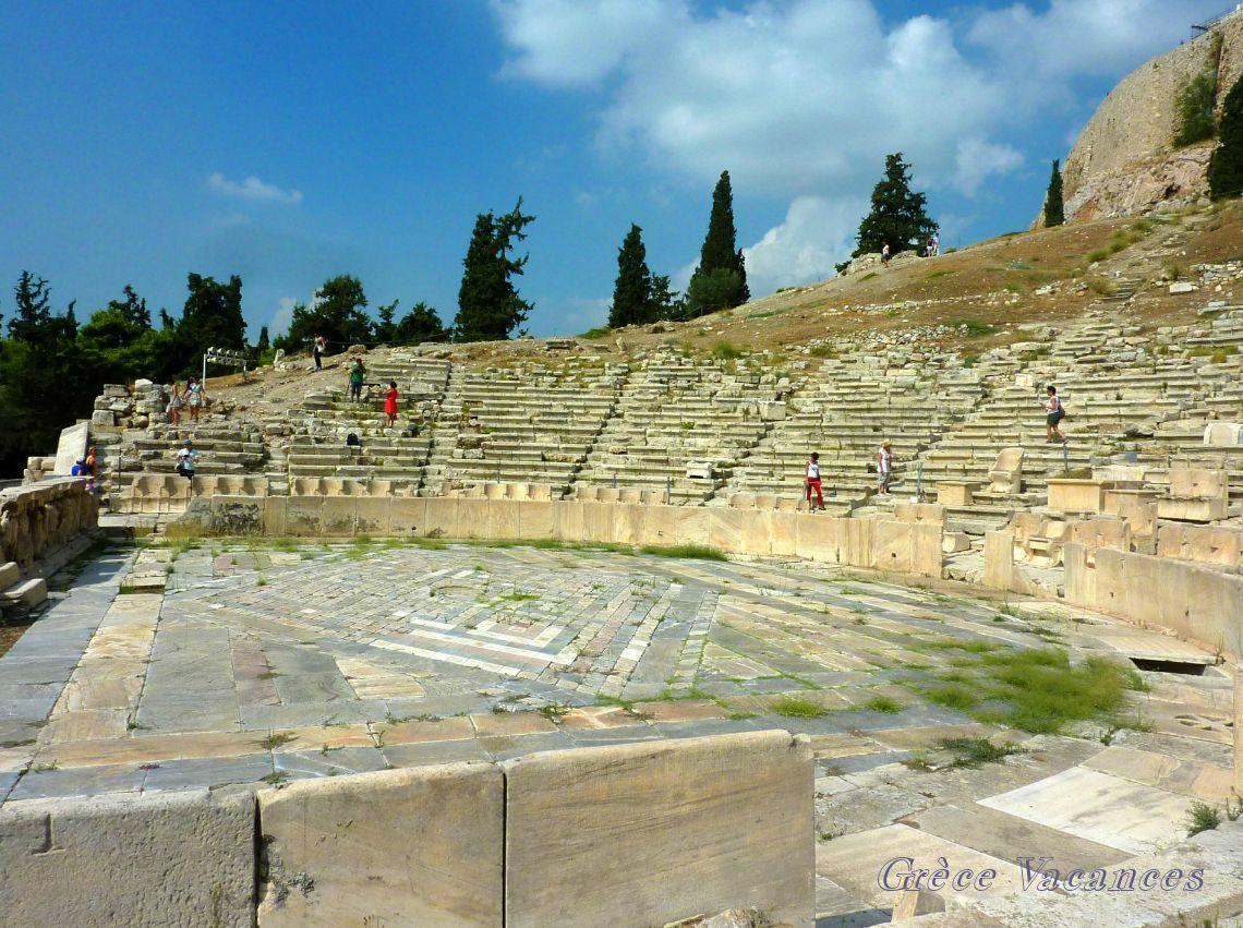 Théâtre Dionyssos -ATHENES pp009