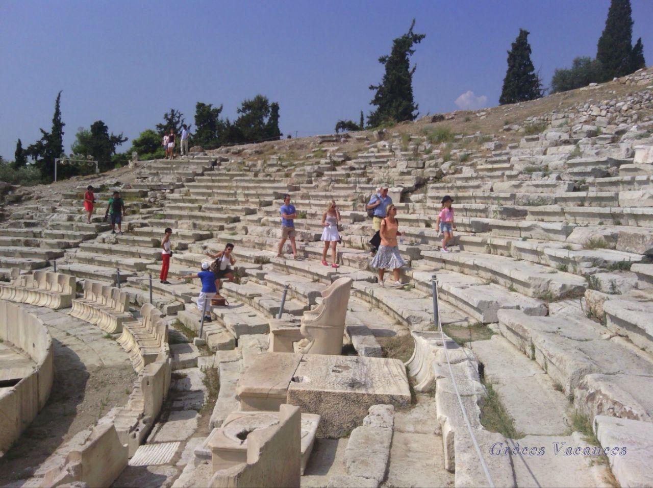 Théâtre Dionyssos -ATHENES pp025