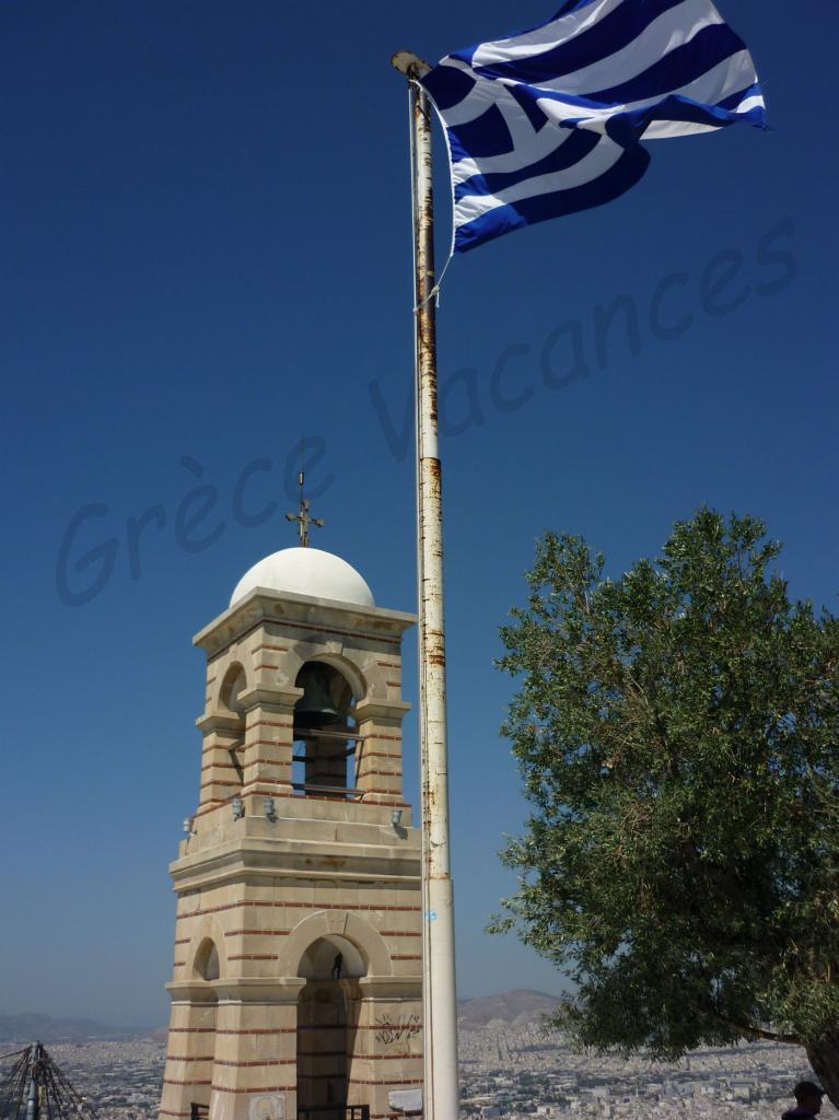 Athenes -St Georges Lycabette -GV-ip