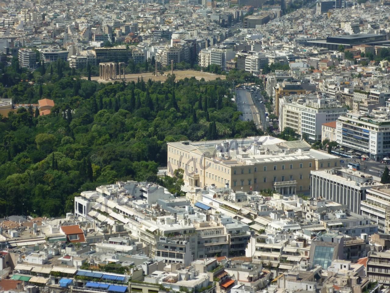 Athenes vue de Lycabette 01-GV