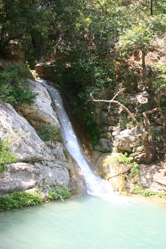 Neda cascade région d'Ilia