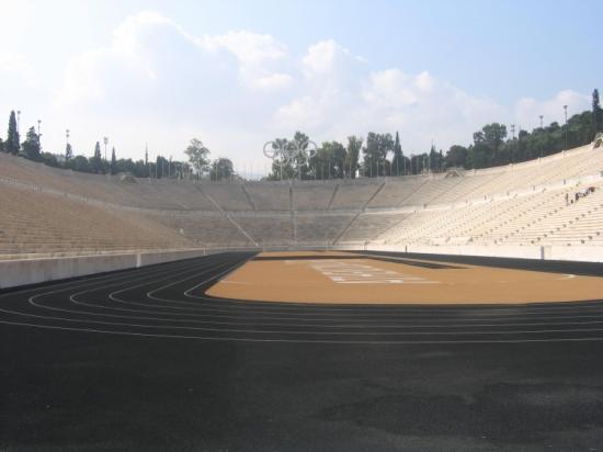 Le stade Kallimarmaro-Athènes-Grèce