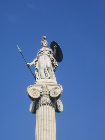 Athéna veille sur la ville