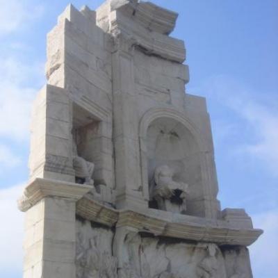 Le monument de fillopapou