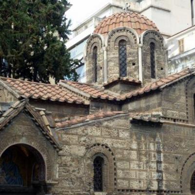 Eglise byzantine Kapnikareas-Athènes-Grèce