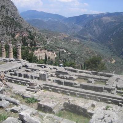 Sanctuaire de Delphes-Grèce