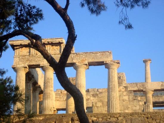 L'île d'Egine-Golfe Saronique-Grèce