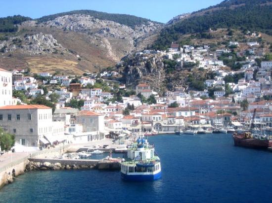 Île d'Hydra-Golfe Saronique-Grèce