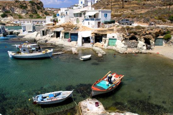 Port de pêche de Kimolos-Milos-Cyclades-Grèce
