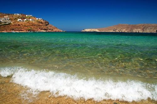 Plage paradisiaque de Grèce