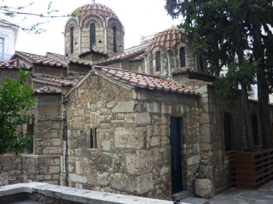 La Kapnikarea - Eglise Byzantine
