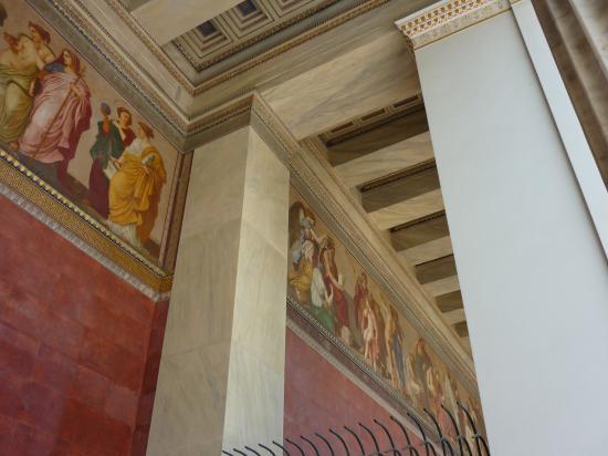 L'Akademie d'Athenes- les frises