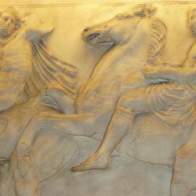 Reproduction fresque du Parthénon