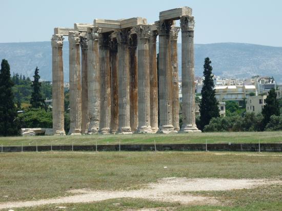 Temple de Zeus Olympien-Athènes-Grèce