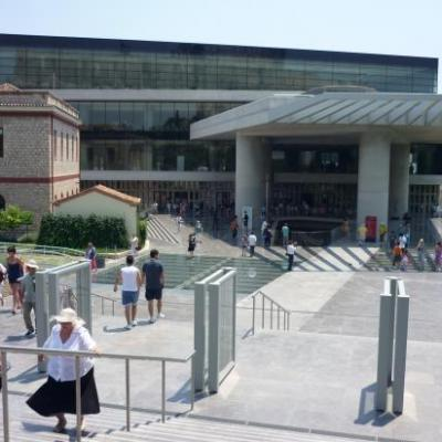 Le musée de l'acropole-Athènes-Grèce