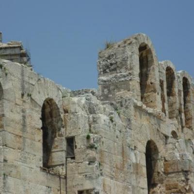 Téâtre Herode Atticus-Athènes-Grèce