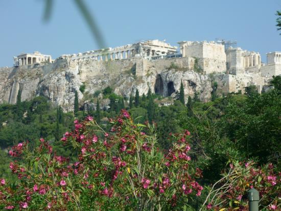 le pathenon sur l'Acropole