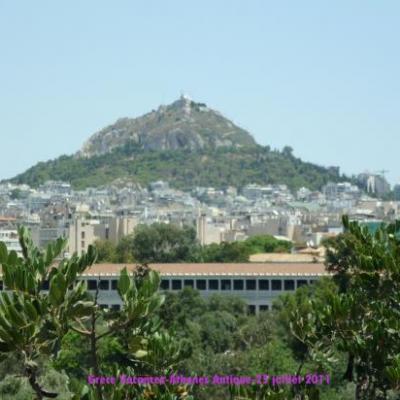 Le mont Lycabette à Athènes
