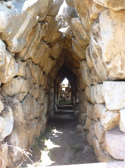 Site de Tirynthe-Argolie-Grèce