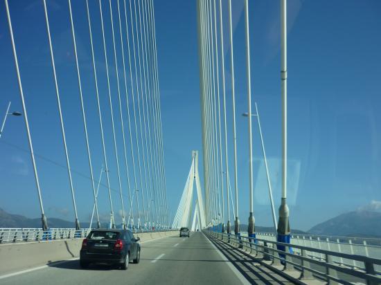 Pont Haubané de Rio et Antirio
