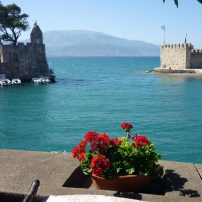 Port de Nafpaktos-Golfe de Corinthe-Grèce