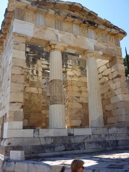 Trésor des Athèniens-Delphes-Grèce